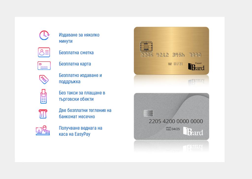 Платежна карта без такси и банки: как да я получим?
